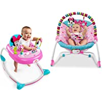 Disney Minnie Walker And Rocker Bundle