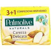 Palmolive - Delicate Care Toilettas Zeep met Amandelmelk - 360 g, 4 stuks