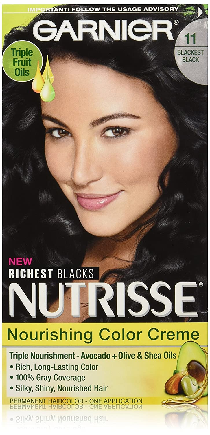 Amazon Garnier Nutrisse Nourishing Color Creme 11 Blackest
