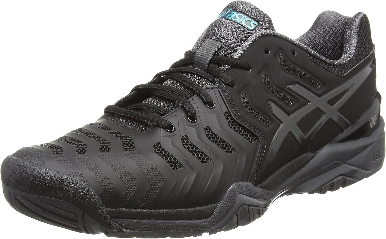 Asics E701Y9095, Zapatillas de Tenis para Hombre, Negro (Black ...