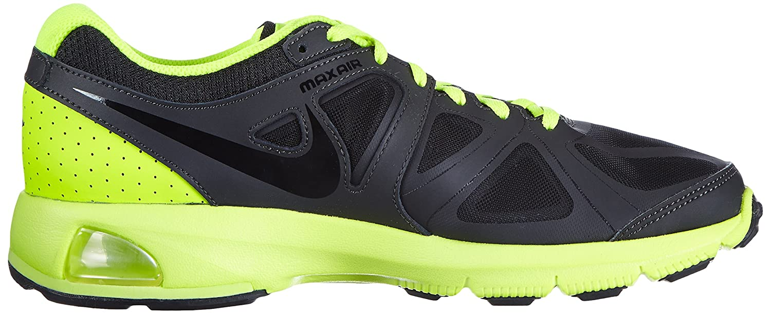 size 40 3961c 16868 Mens Nike Air Max Run Lite 4 Running Shoe Dark Charcoal Volt Challenge Red  Black Drk Charcoal Blk Vlt Chllng Rd 8.5 D(M) US  Buy Online at Low Prices  in ...