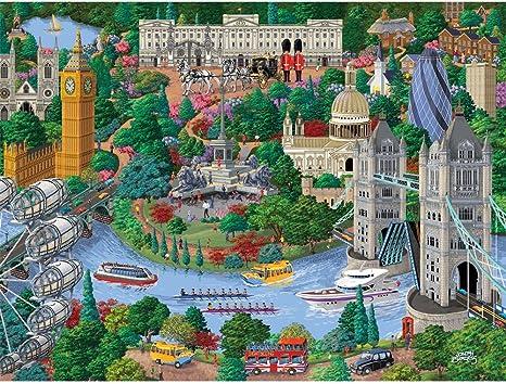 City View-by Joseph Burgess Bits /& Pieces-300 Large Piece Puzzle-Washington D.C