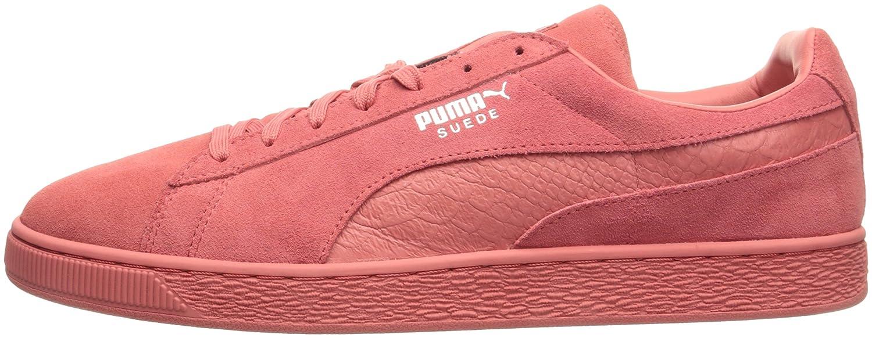 Puma Klassiske Mono Semsket Sneaker Rød iq5l8b