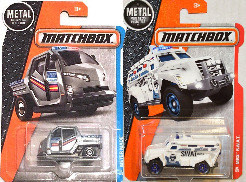amazon com mbx s w a t 4 x 4 police 69 matchbox pursuit truck