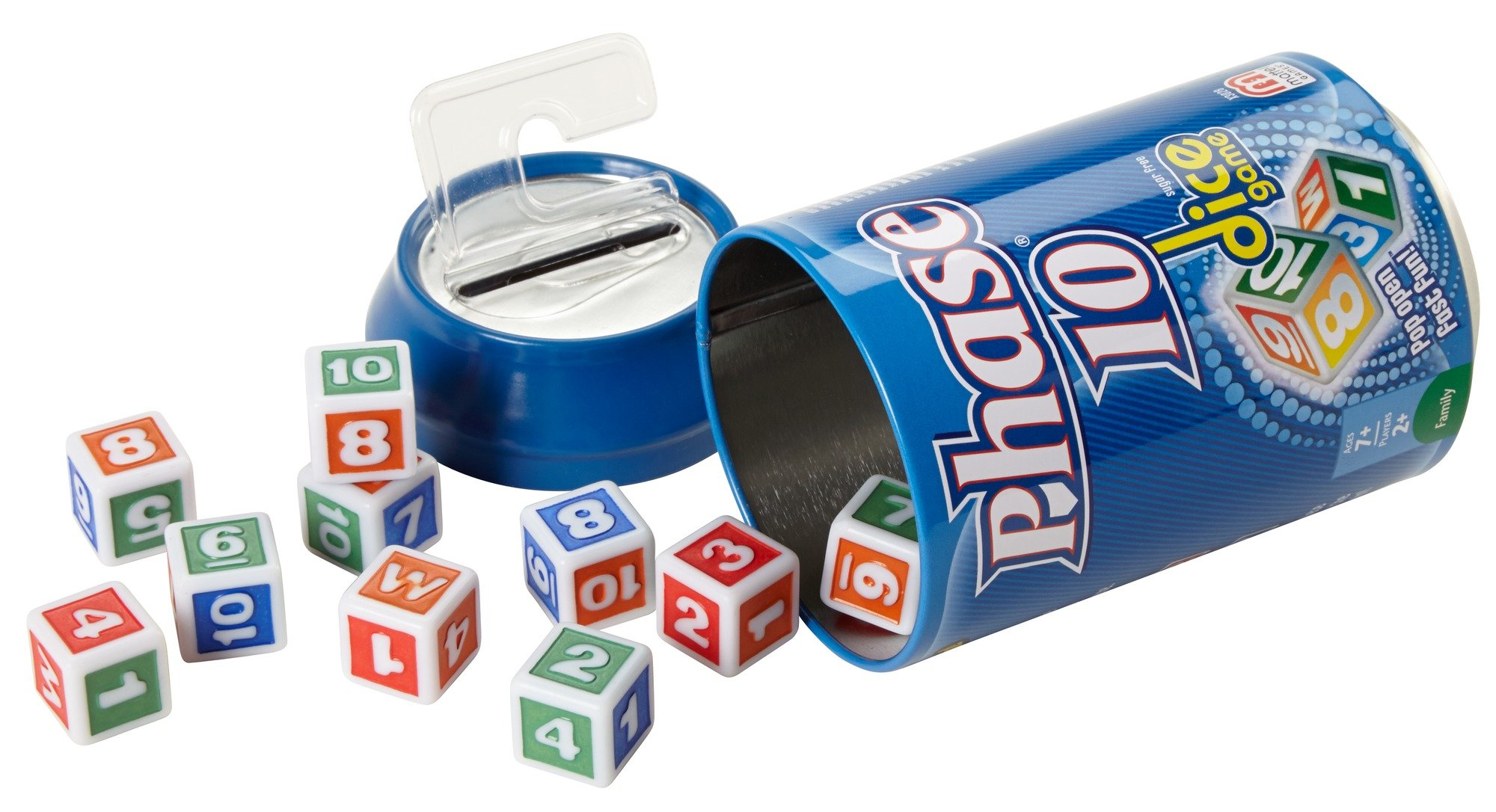 Mattel Phase 10 Dice Game (packaging may vary)