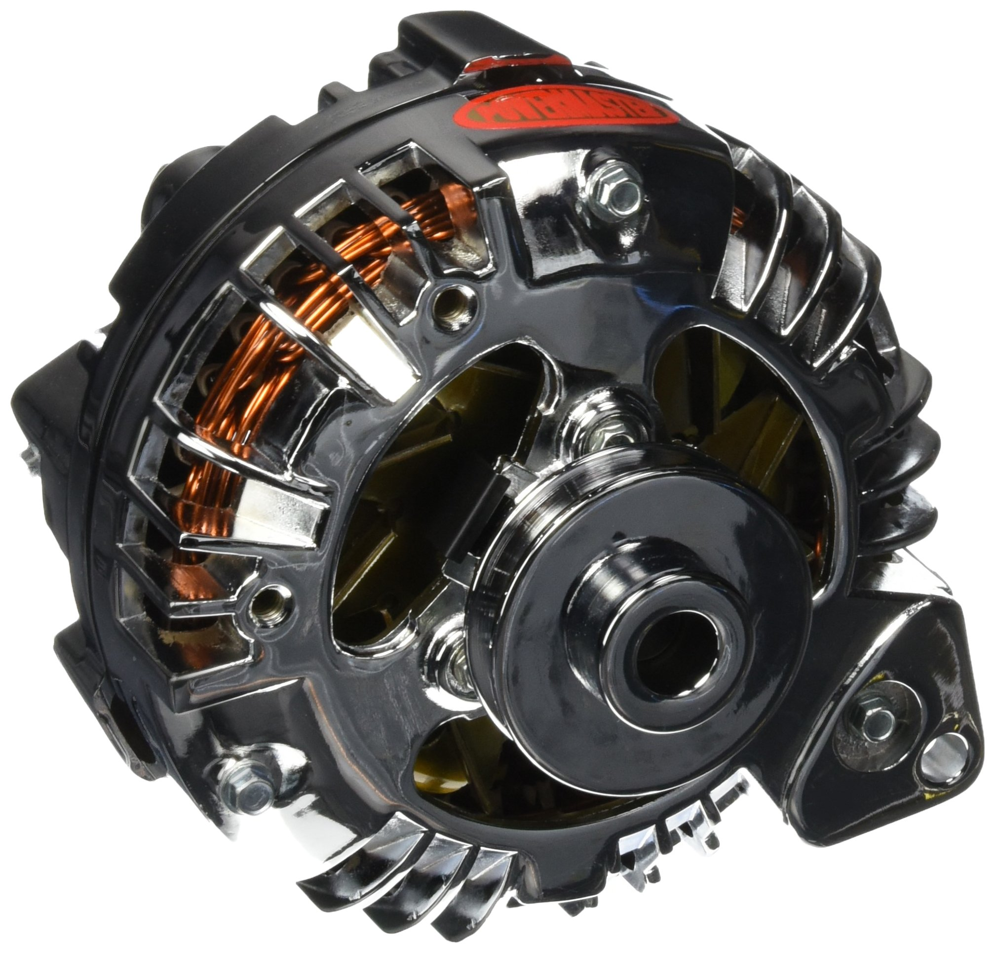 Powermaster 17519 Single Pulley Alternator by Powermaster (Image #1)