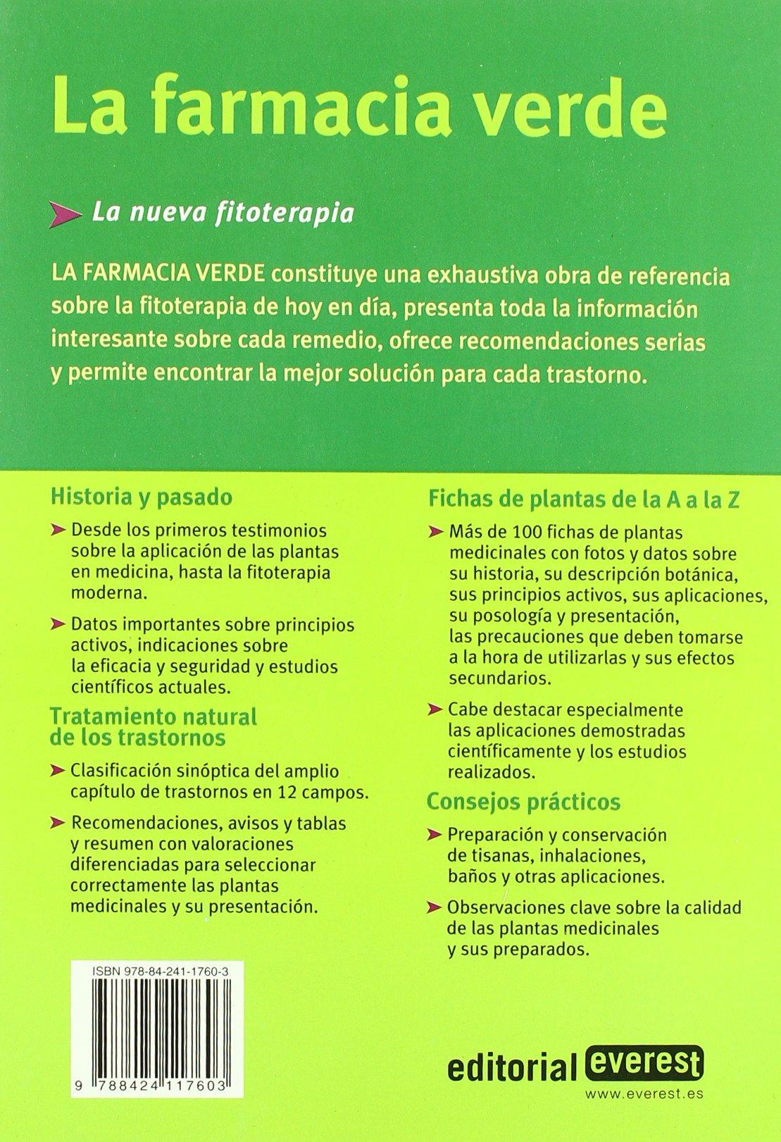 La Farmacia Verde Spanish Edition Varios 9788424117603 Amazon