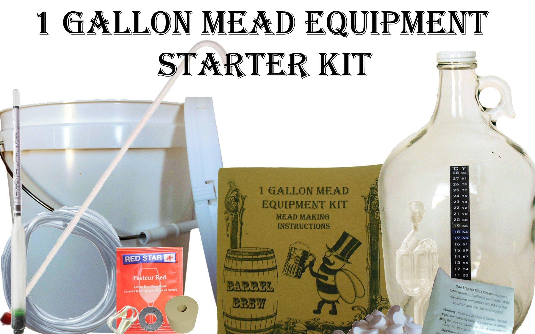 Barrel Brew 1 Gallon Mead Equipment Starter Kit