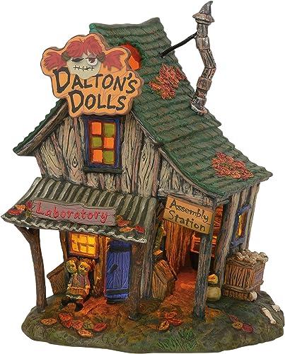 Department 56 Snow Village Halloween Dalton s House of Dolls