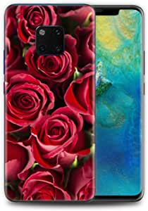 استيكر هواوي ميت 20 برو - فن - زهور حمراء - فن
