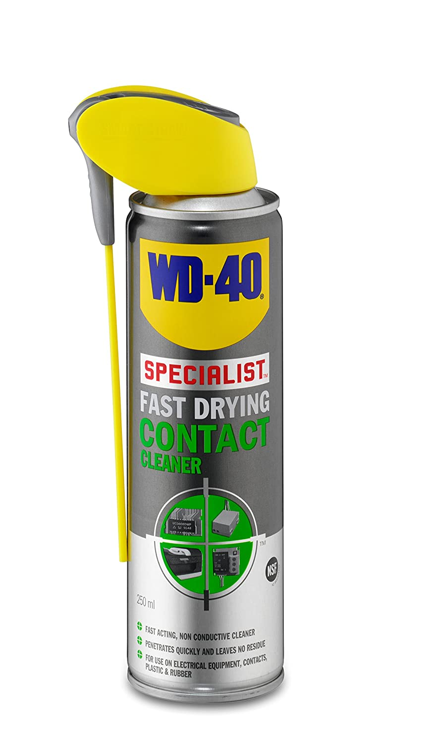 WD40 Fast Drying Contact Cleaner 250ml