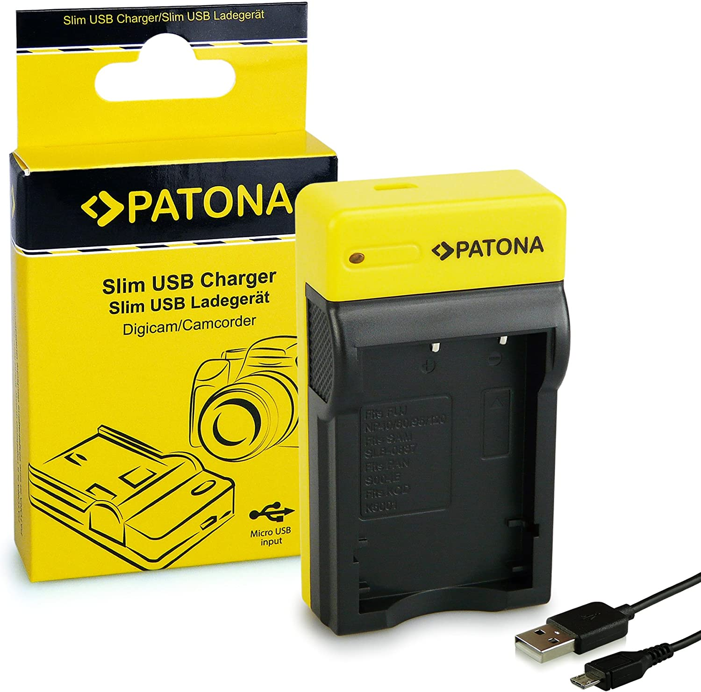 Patona Slim Ladegerät Kompatibel Mit Fuji Np 40 Kamera
