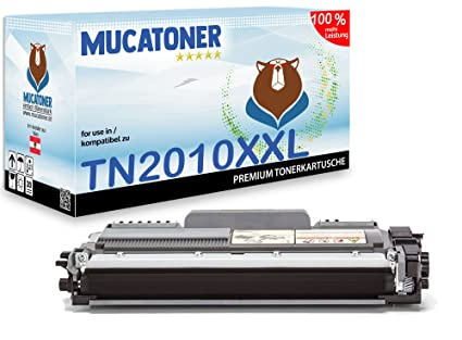 XXL Muca - Tóner Compatible para Brother TN 2010 Apto para Brother ...