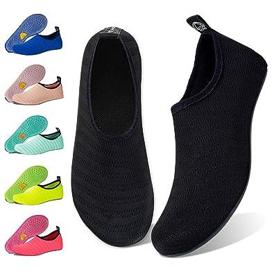 Amazon.com: Zapatos de Agua para Mujer Hombre Descalzo Quick ...