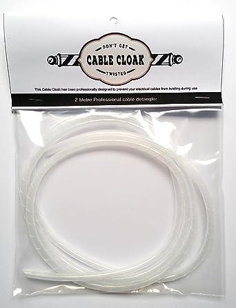 Cable capa/barbero/peluquería Cable eléctrico Detangler