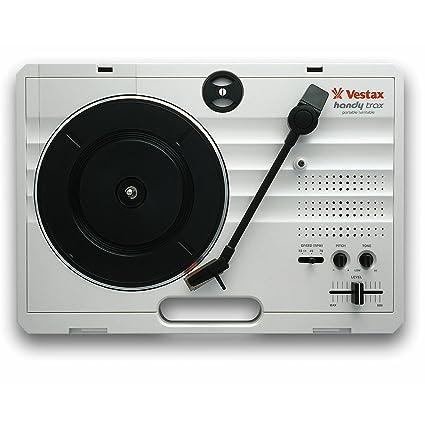 Amazon.com: Vestax Handy Trax portátil Turntable: Musical ...