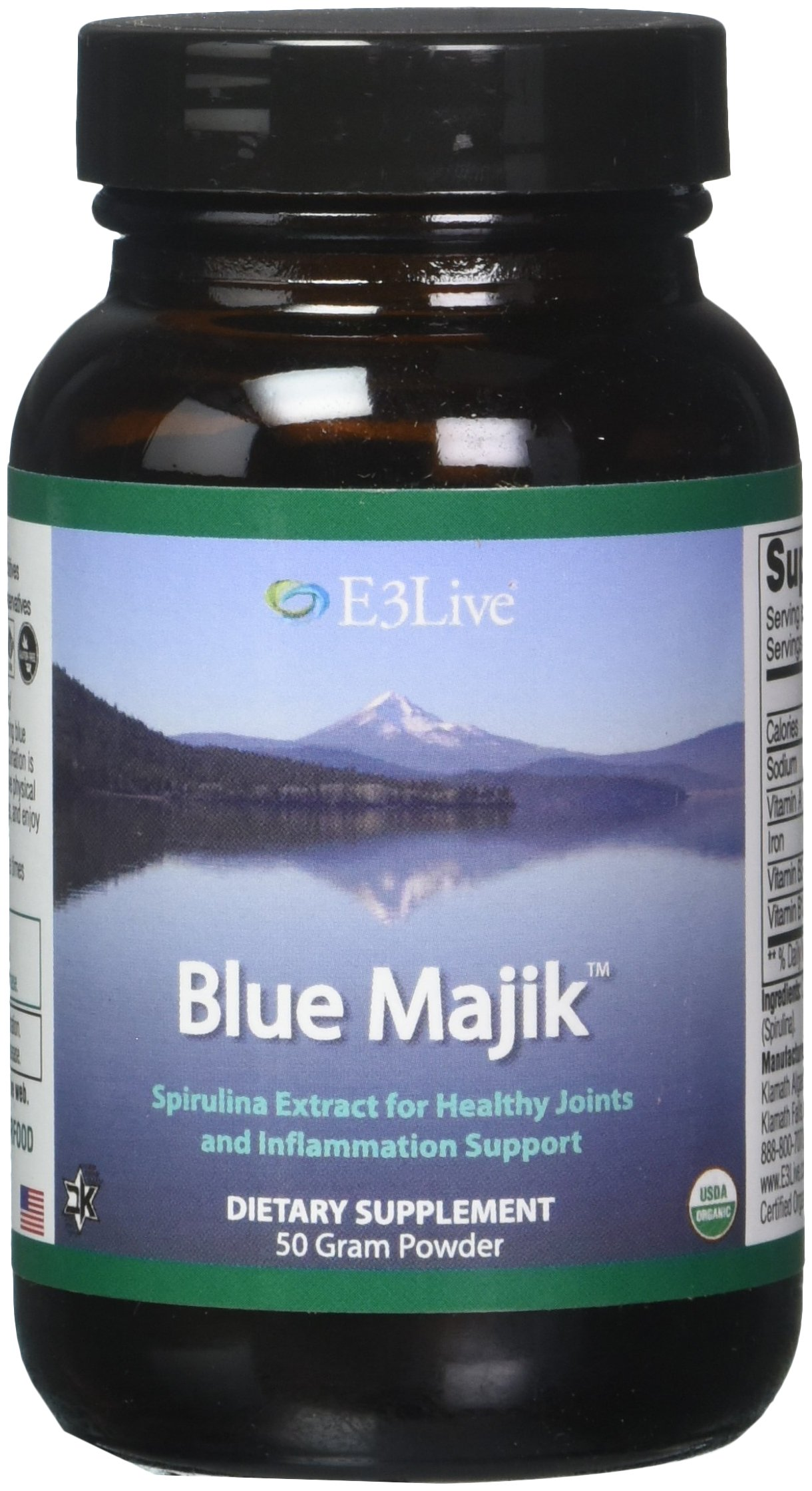 E3Live Blue Majik Fine Powder, 50 Gram by E3LIVE