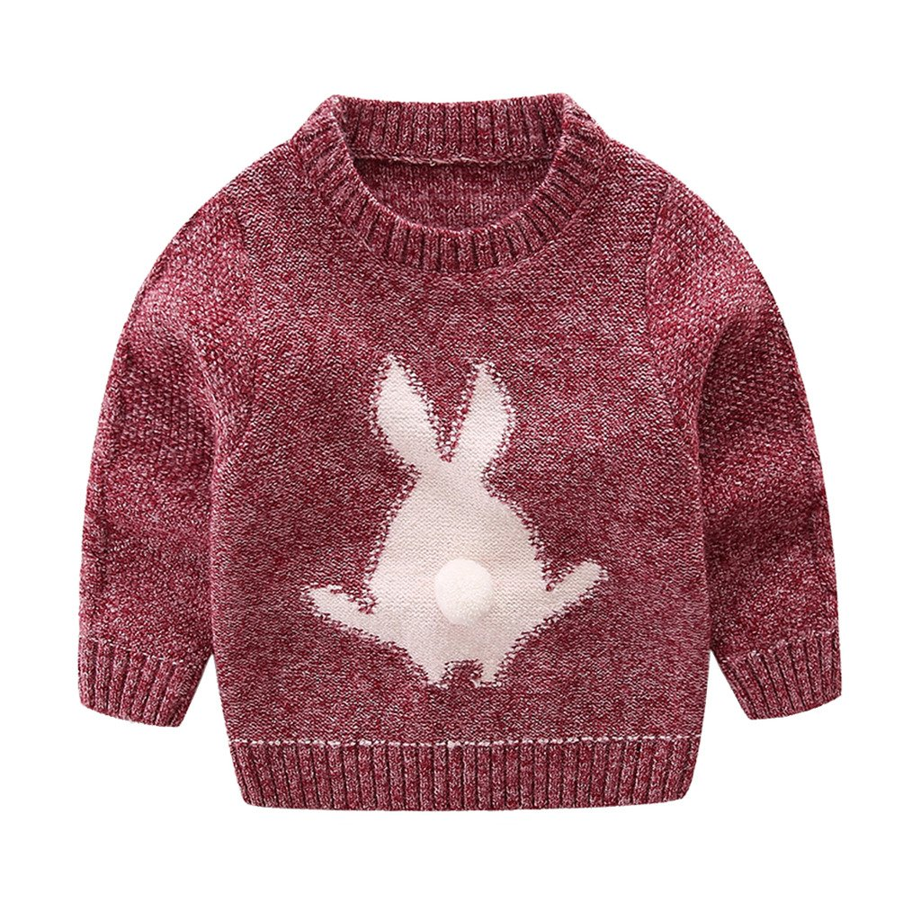 Mud Kingdom Little Boys Cute Rabbit Sweaters Pullover ZS0501