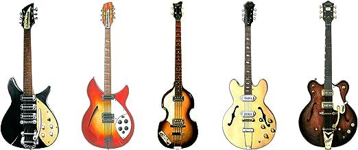 George Morgan Illustration Tarjeta de felicitación de Guitarras de los ...