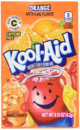 Image result for orange kool aid