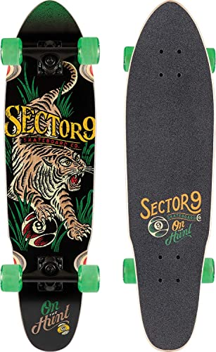 Sector 9 Stalker Rasta Native Cruiser Complete Sz 31.5 x 8.25in