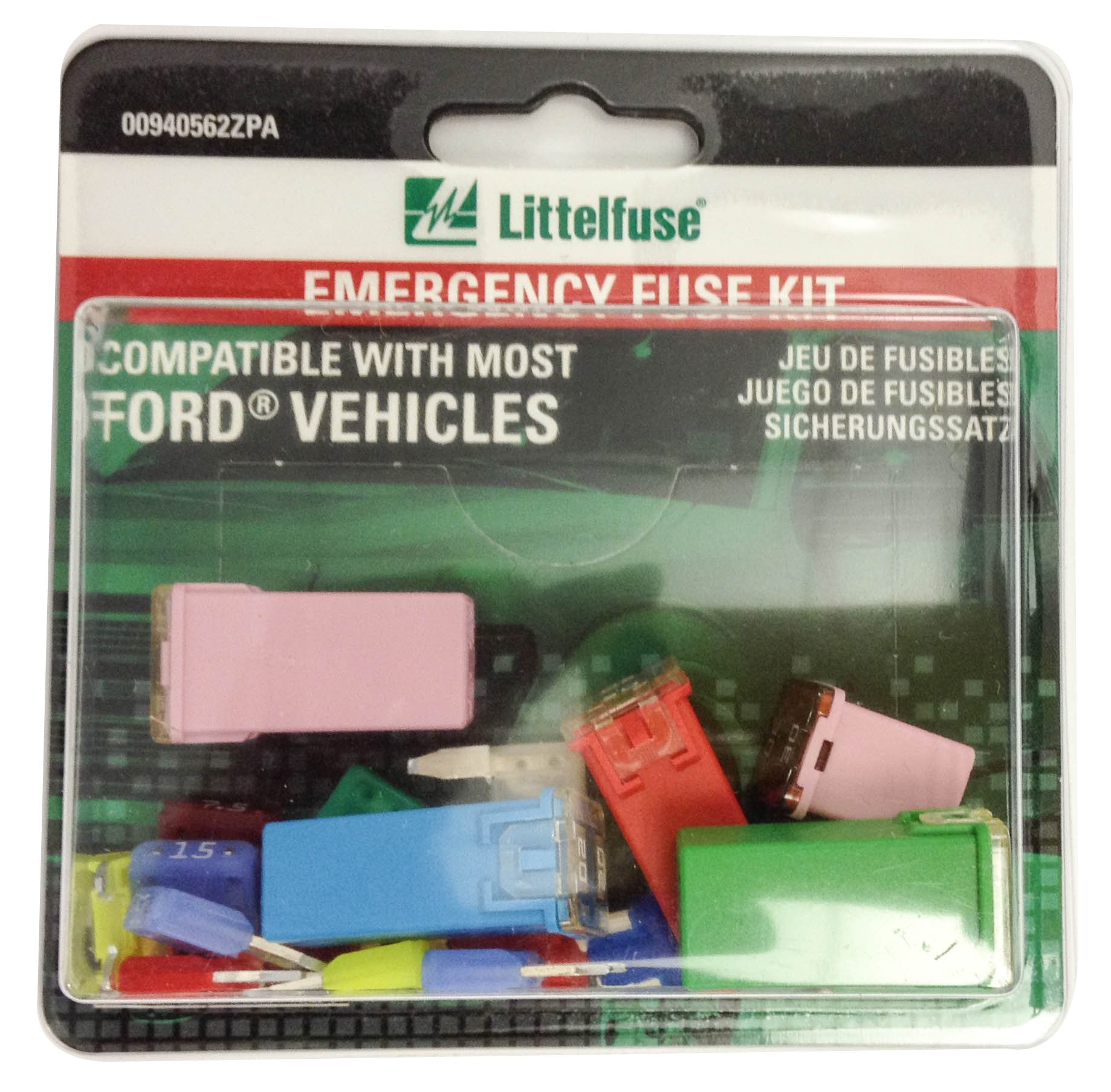 Littelfuse 00940562ZPA OEM Emergency Fuse Kit for Ford by Littelfuse (Image #1)