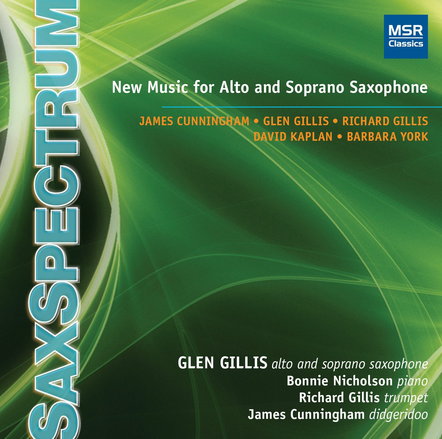CD : Glen Gillis - Saxspectrum (CD)