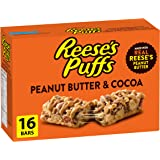 REESE PUFFS Peanut Butter & Cocoa Flavour Cereal Bars, 16 Count