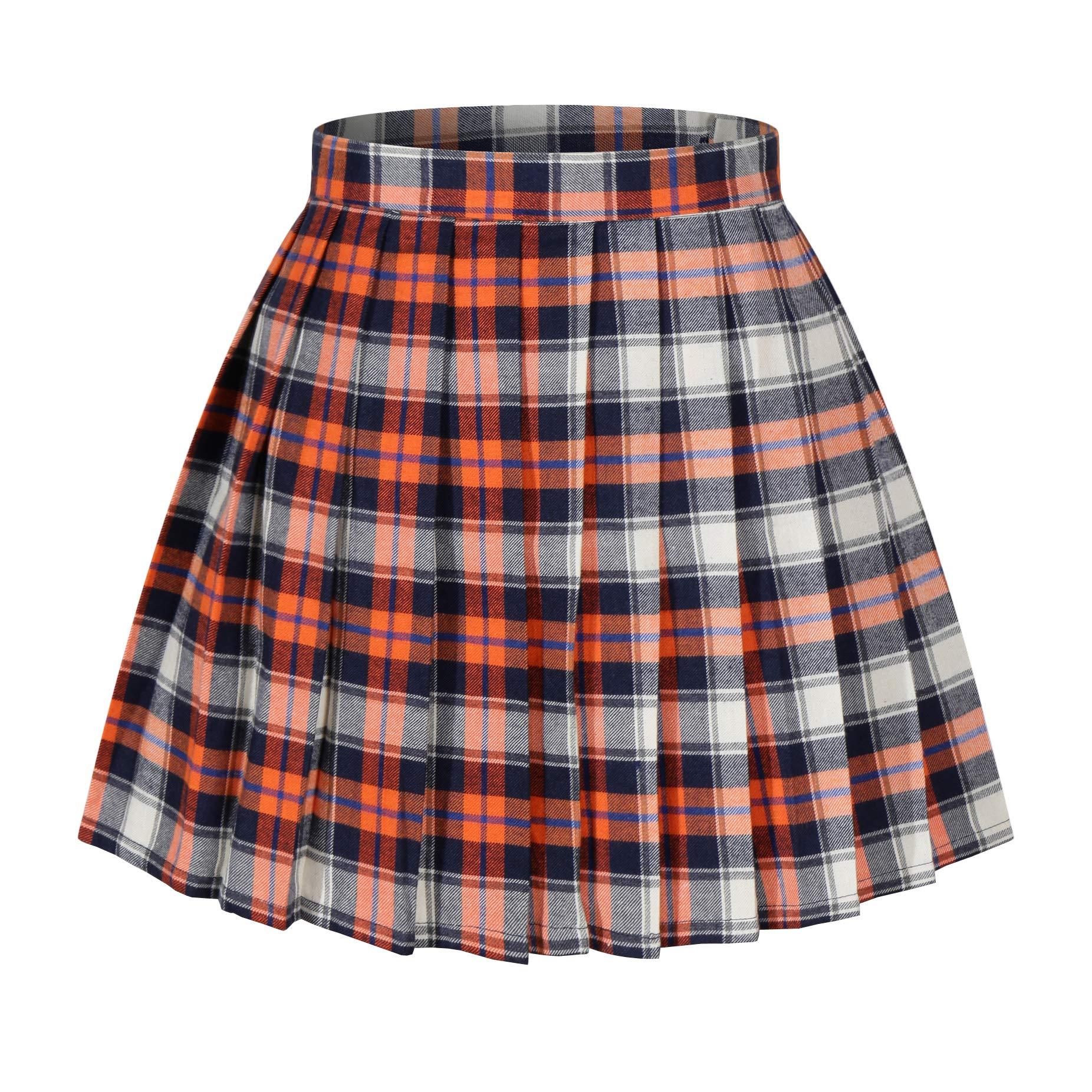 1579d40792 Short Red Pleated Mini Skirt – DACC
