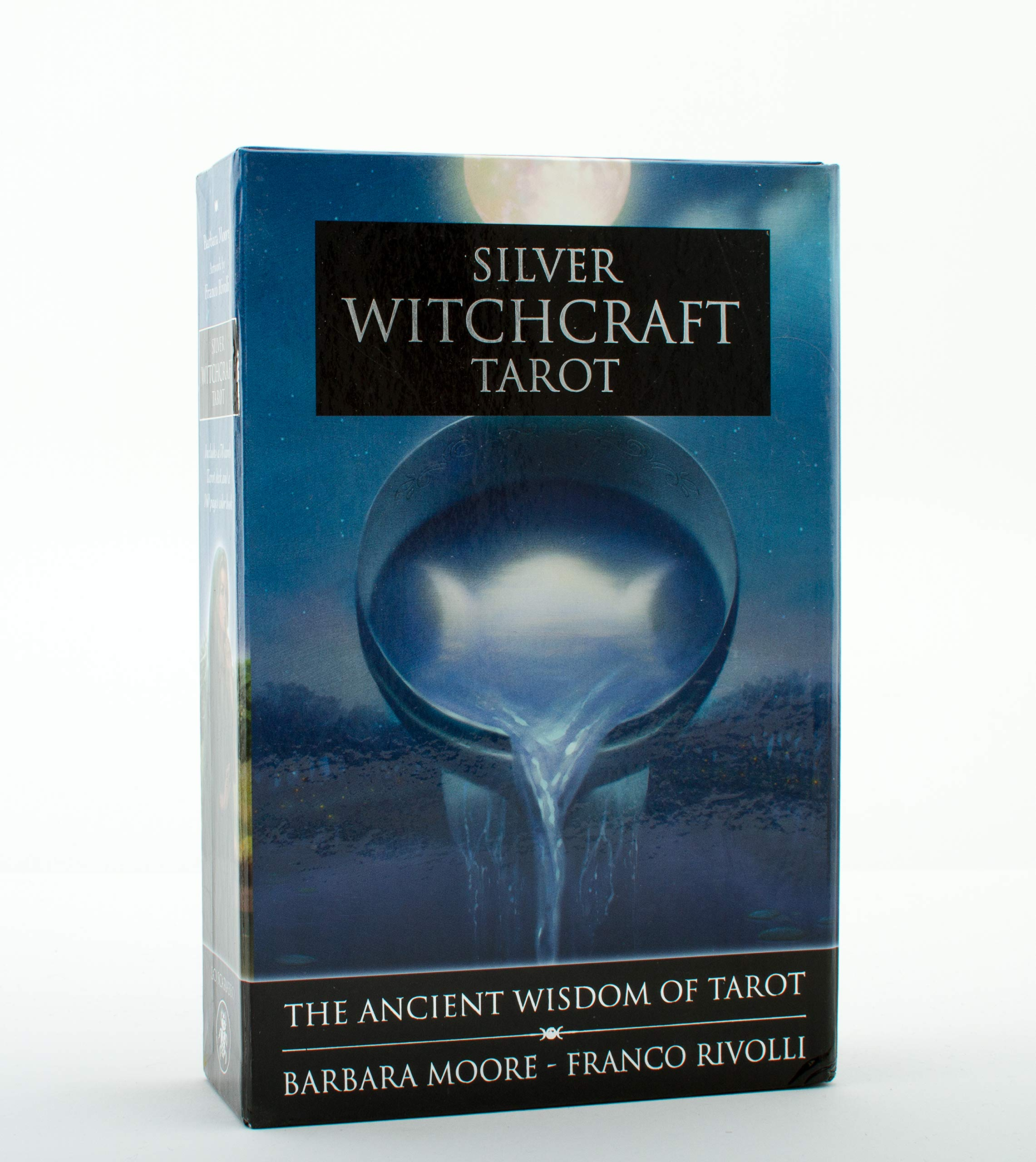 Silver Witchcraft Tarot Kit Book and Card Set, 20pp book and 20 ...