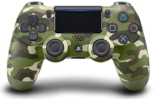 Amazon.com: DualShock 4 Wireless Controller for PlayStation 4 - Green Camouflage: Video Games