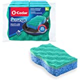 O-Cedar Scrunge Multi-Use (Pack of 6) Non-Scratch, Odor-Resistant All-Purpose Scrubbing Sponge Safely Cleans All Hard Surface