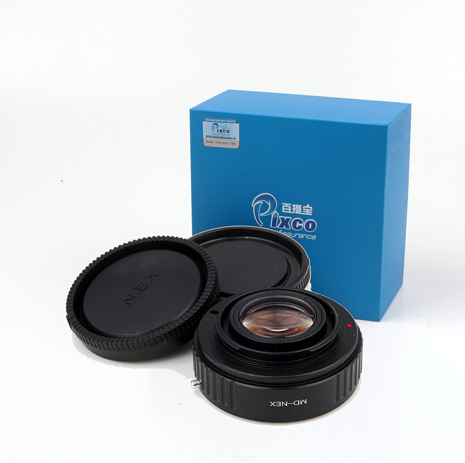 Pixco Focal Reducer Speed Booster Objektiv-Adapter: Amazon.de: Kamera