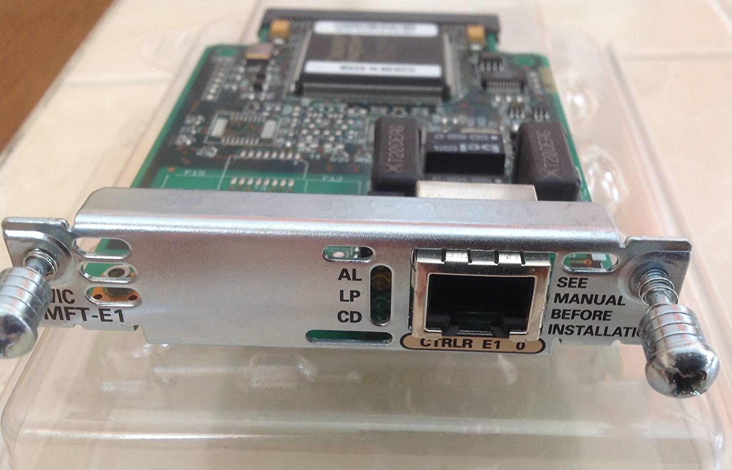 Cisco  VWIC-1MFT-E1 1-PORT RJ-48 Multiflex Trunk Card