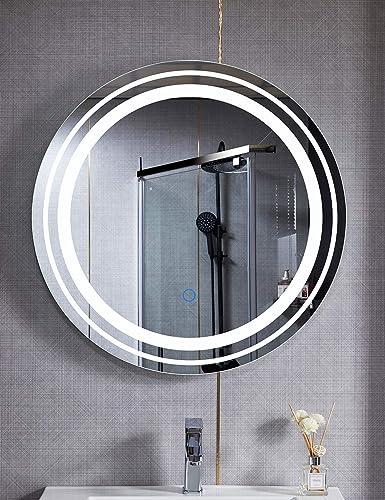 BUBFUL LED Bathroom LED Vanity Mirror