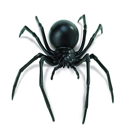 "schwarz Toob /""Safari Incredible Creatures Widow Spider Miniatur"