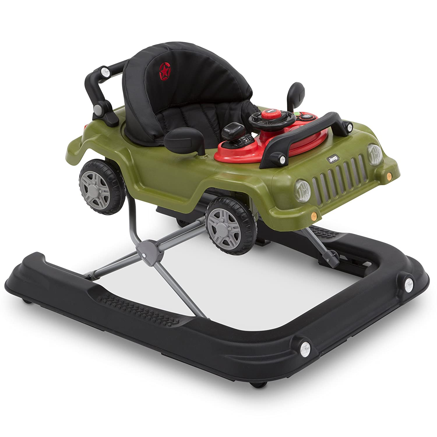 a1f71b18070f Amazon.com   Jeep Classic Wrangler 3-in-1 Activity Walker ...