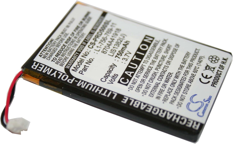 BATERÍA Po-Li (polímero de Litio) Compatible con 750mAh para Sony ...