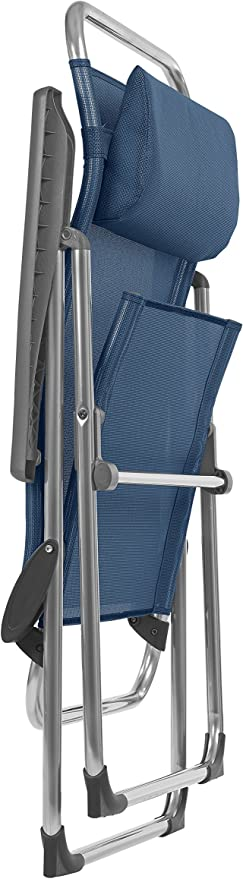 Lafuma Silla plegable compacta port/átil Azul Batyline LFM1961-3865 ALU VICTORIA