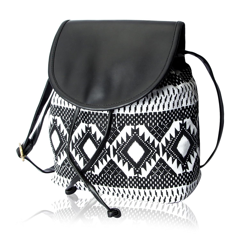 Kleio Womens Sling Bag Blackbnb306lybl