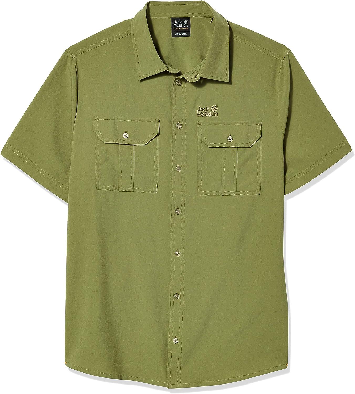 Jack Wolfskin Men's Kwando River M Short Sleeved Shirt
