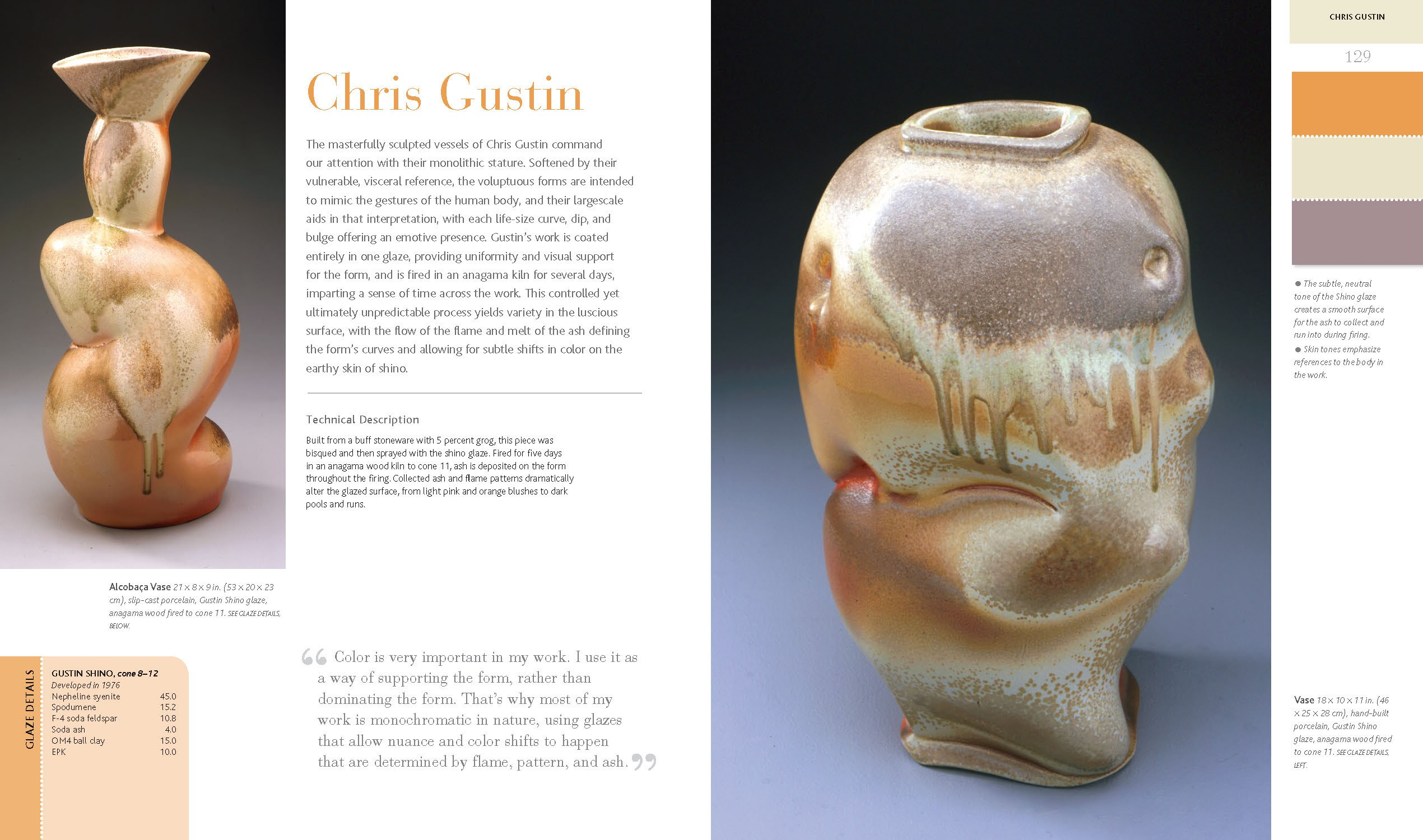 glaze the ultimate ceramic artist s guide to glaze and color brian