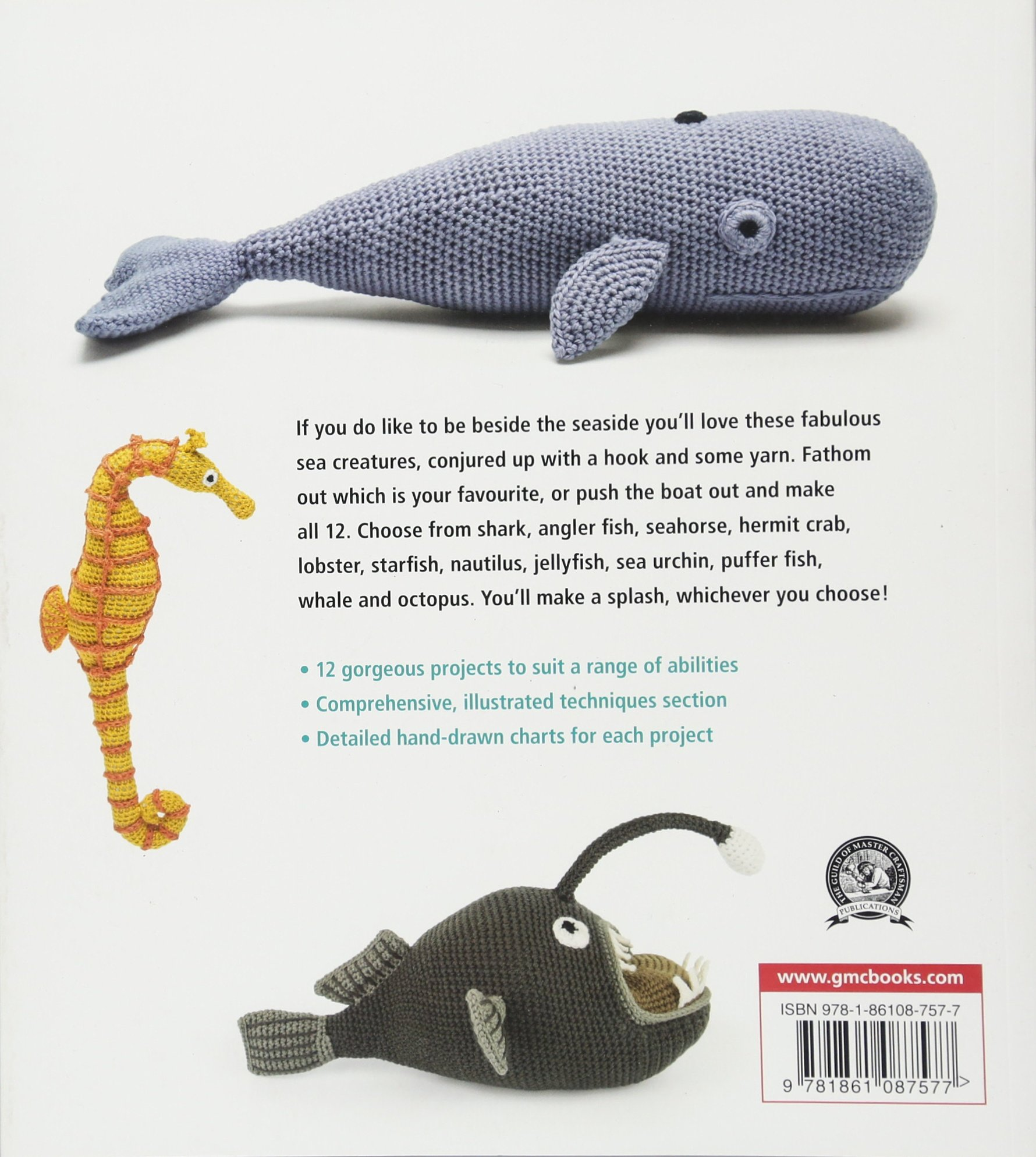 Amigurumi Crochet Sea Creature Animal Toy Free Patterns | Kroşe ... | 1988x1780