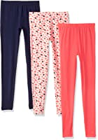 Limited Too Big Girls' 3 Pack Jersey Spandex Legging Pant (More Styles Available)