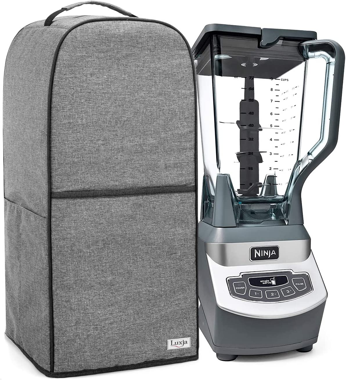 Luxja Blender Cover Compatible with Ninja Foodi, Cover for Ninja Foodi Blender, Gray