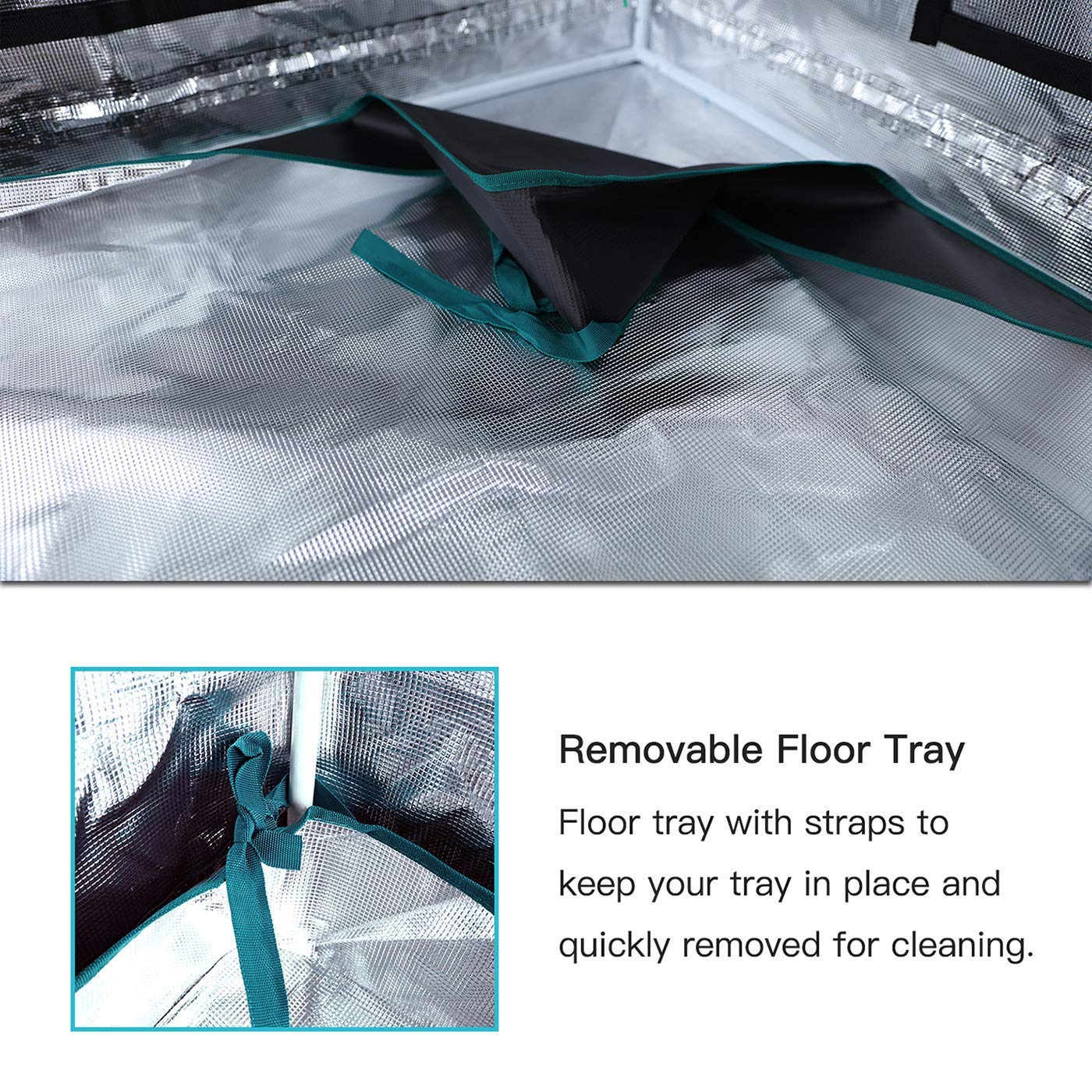 MARS HYDRO MarsHydro Grow Tent 39x39x70 Reflective Mylar Hydroponic Grow Tents for Indoor Plant Growing 3x3 39x39x70