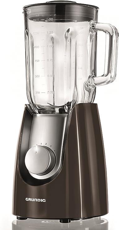 Grundig SM 7280 batidora (Gourmet, 600 W, 1,5 L Recipiente de cristal) gris: Amazon.es: Hogar