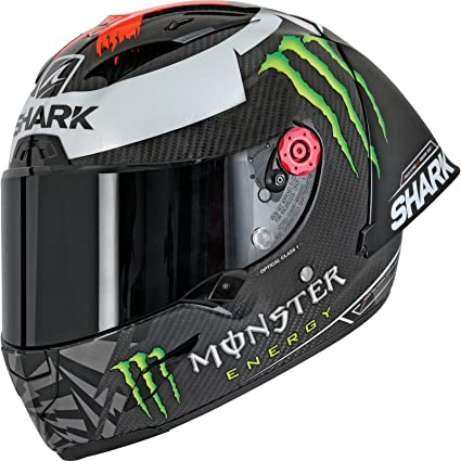 Shark Casco integral RACE-R PRO GP Lorenzo Carbon Red Silver DRS talla XS