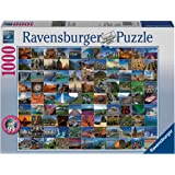 Amazon ravensburger political world map jigsaw puzzle 1000 ravensburger 99 beautiful places on earth jigsaw puzzle 1000 piece gumiabroncs Gallery
