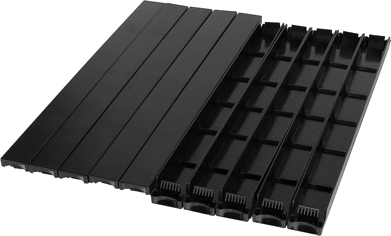 Black CyberPower CRA20001 Rack Blanking Panel kit Cases